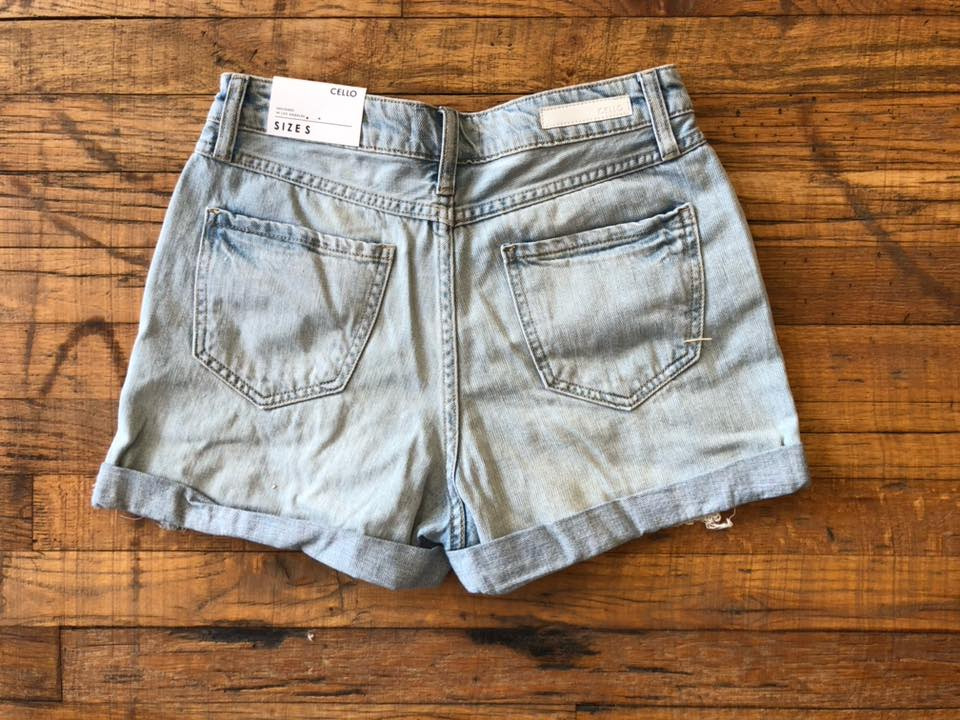 SALE! Huntington High Waist Distressed Shorts