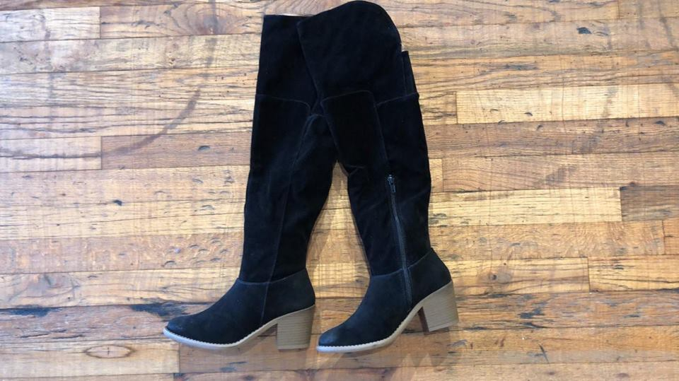 SALE! Next Level Over-the-Knee Boots in Black