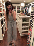 Wimberly Striped Jumpsuit