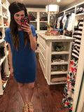 Calloway Dress in Blue