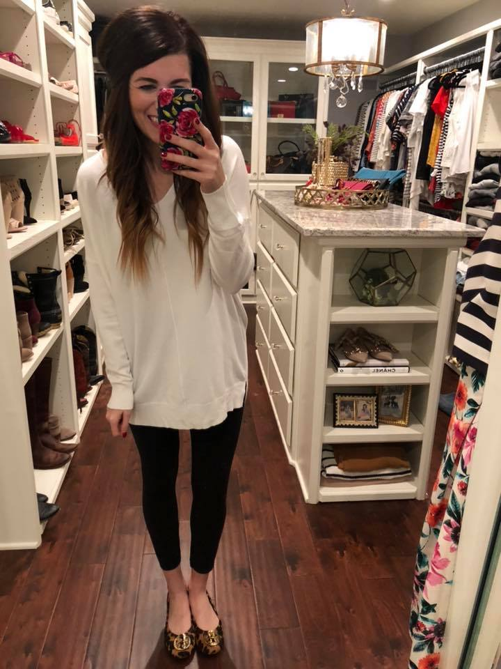 Feel the Chill Sweater in White