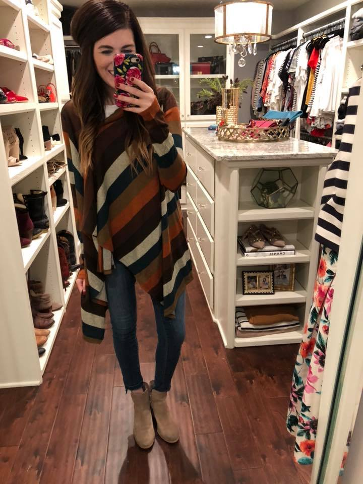 Colbie Striped Cardigan