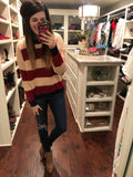 Britt Striped Sweater