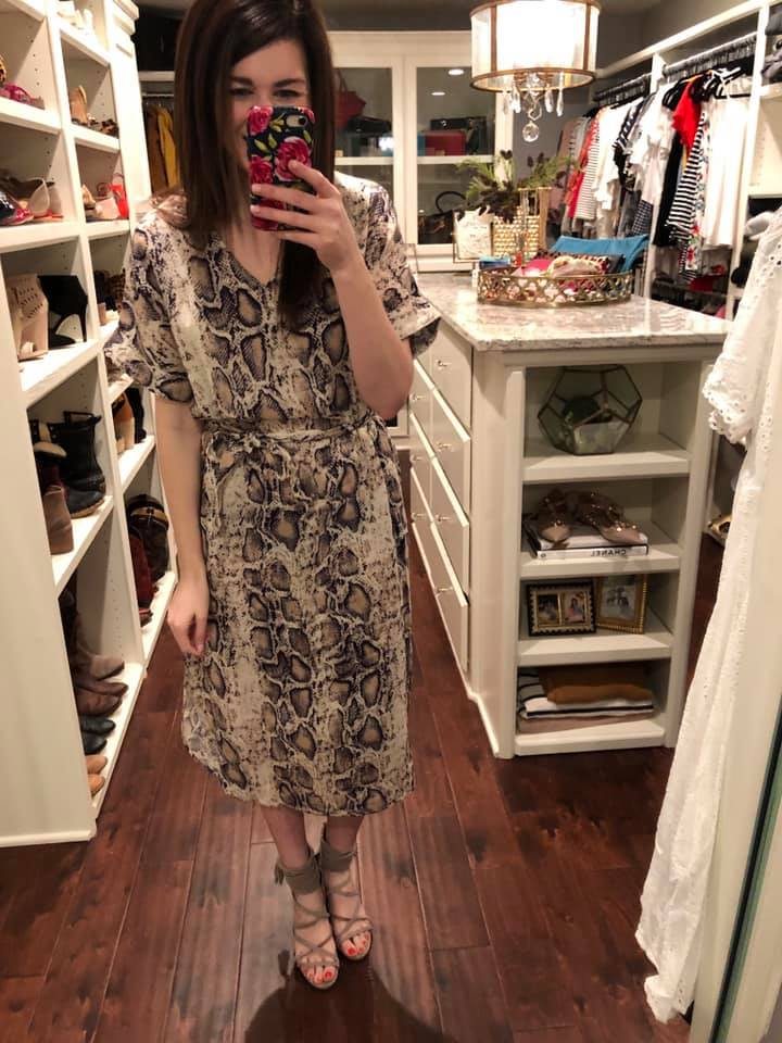 Desert Crush Midi Dress