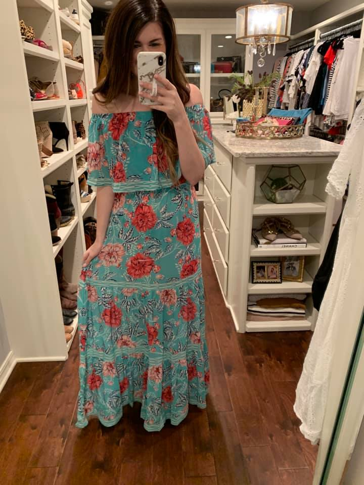 Bloom with a View Maxi Dress