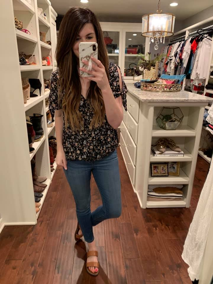 Laura Kate Floral Top