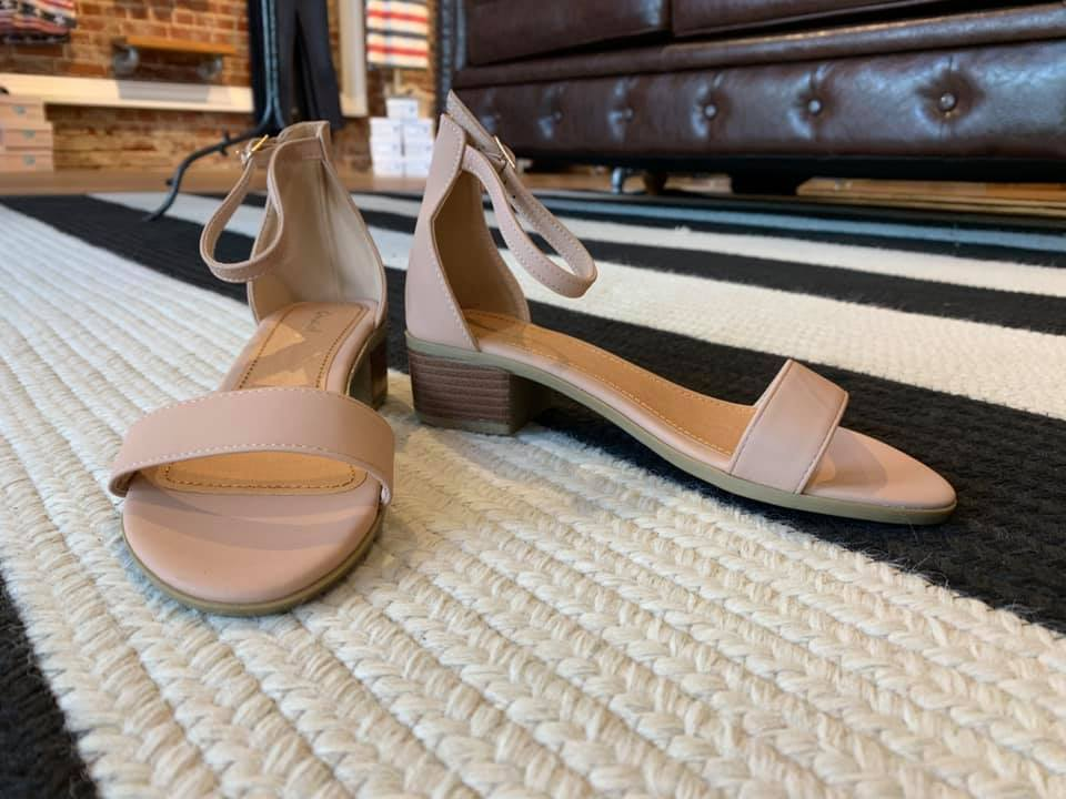 Adley Heels in Nude