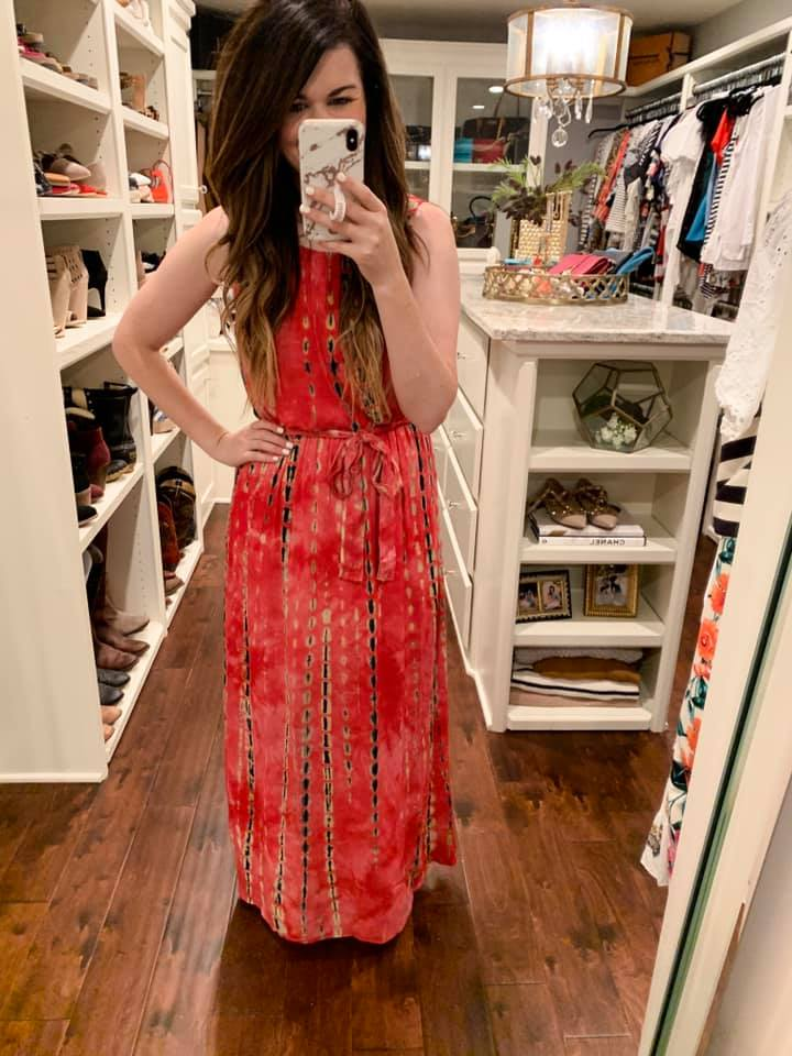 Made for This Moment Maxi Dress