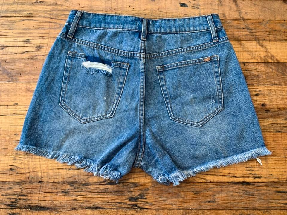 Daytona Distressed Shorts