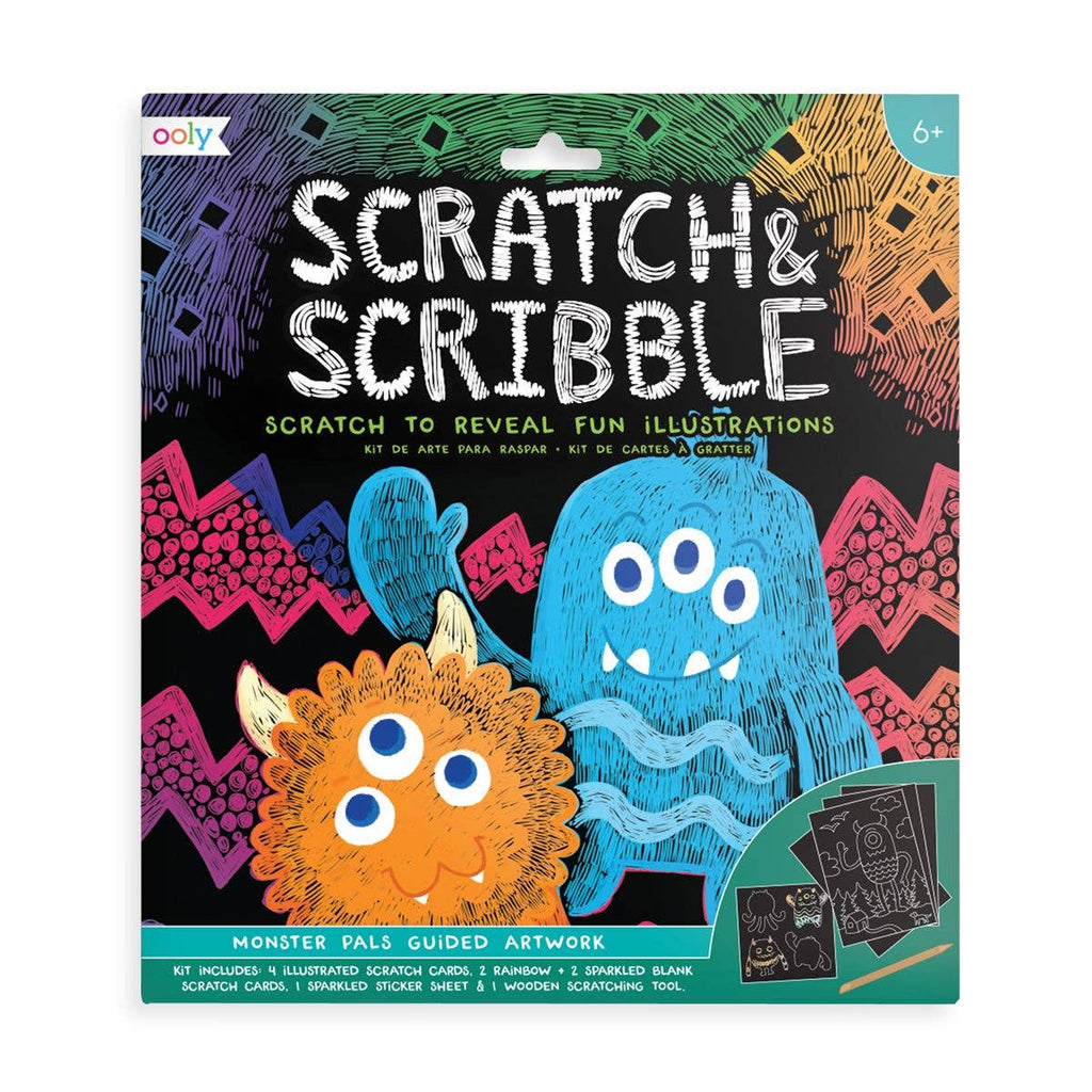 Scribble & Scratch Sets