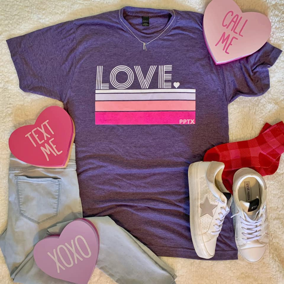 Love Stripes Tee