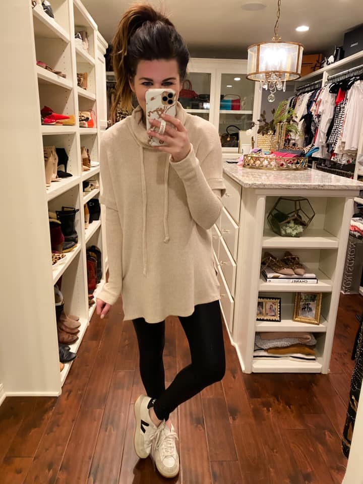 Casual Cool Pullover in Oatmeal