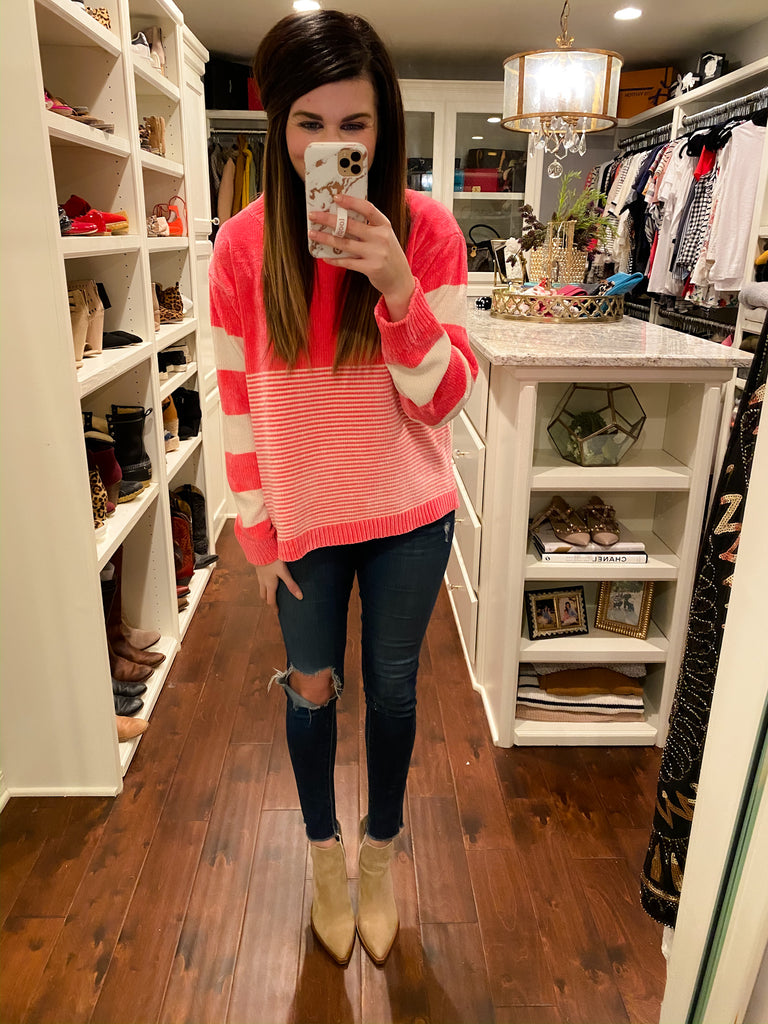 Griffith Sweater in Pink