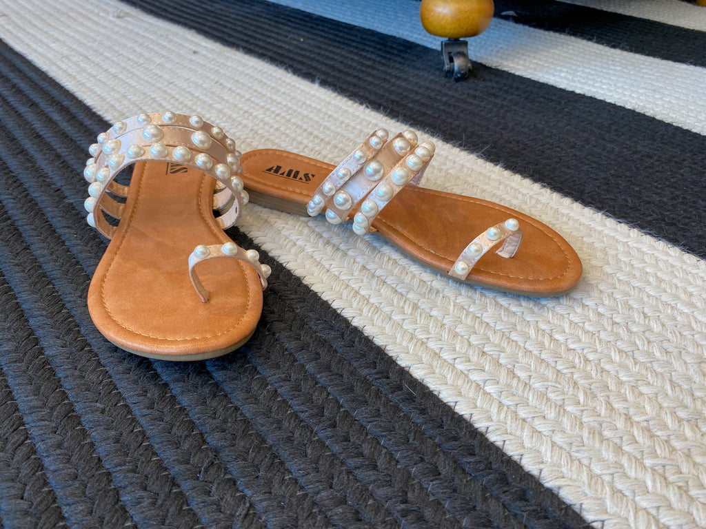 Vineyard Pearl Sandals