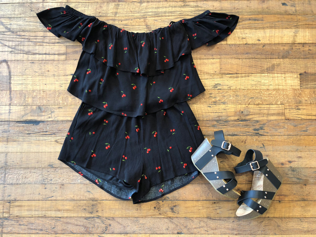 Cici Cherry Two Piece Set