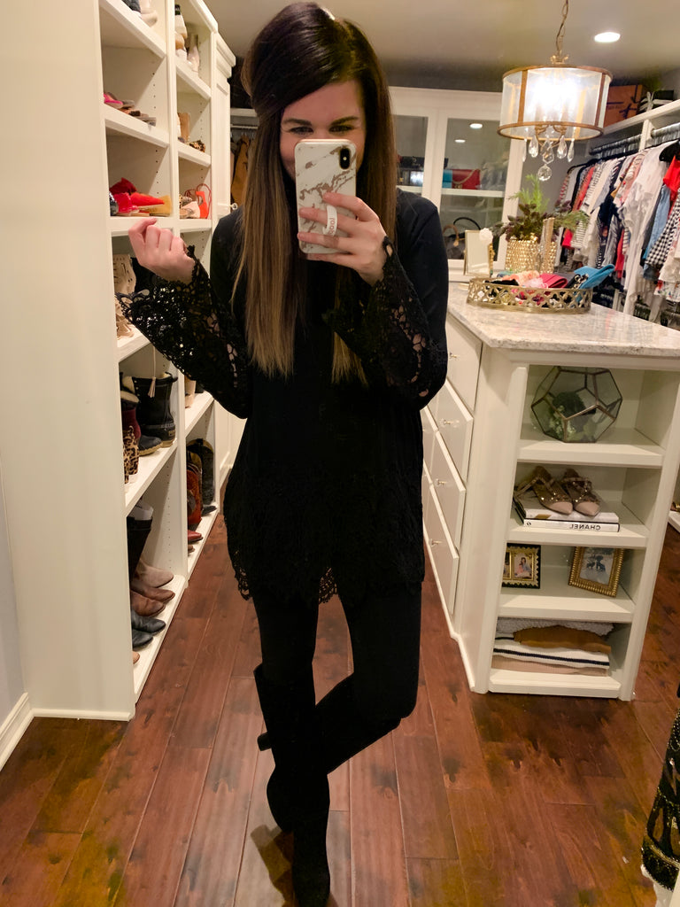 Liza Tunic in Black