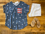 Stars and Stripes Top