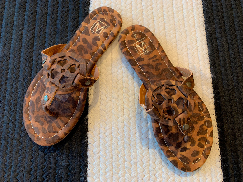 Madden Sandals in Cheetah