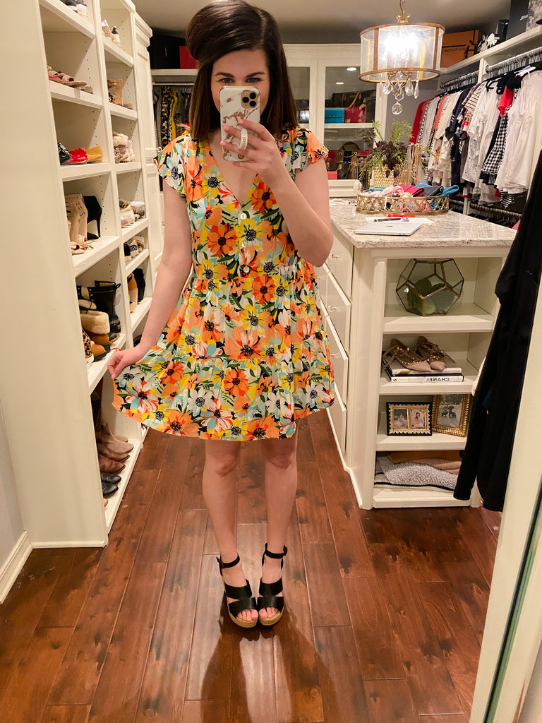 Burst into Bloom Dress