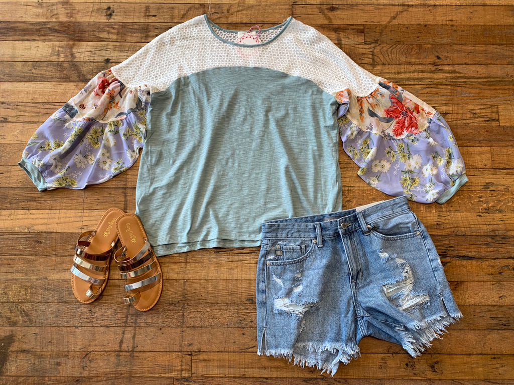 Dandy Top in Mint