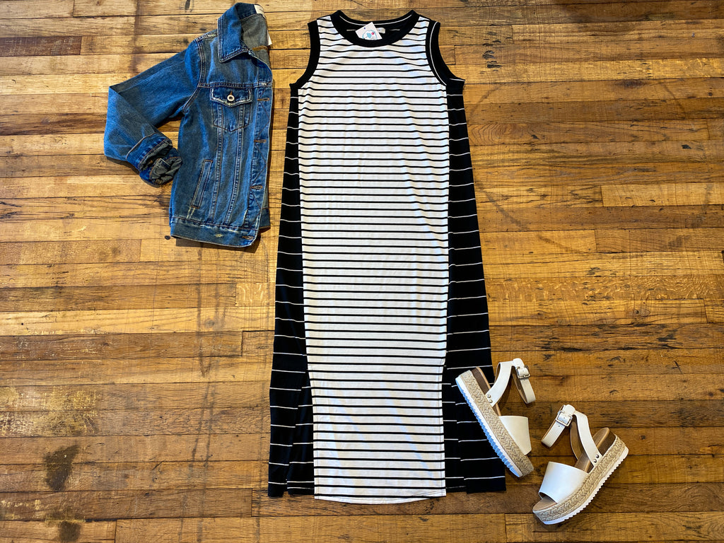 Sloane Striped Dress