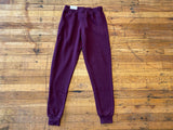 The Comfier the Better Joggers in Plum