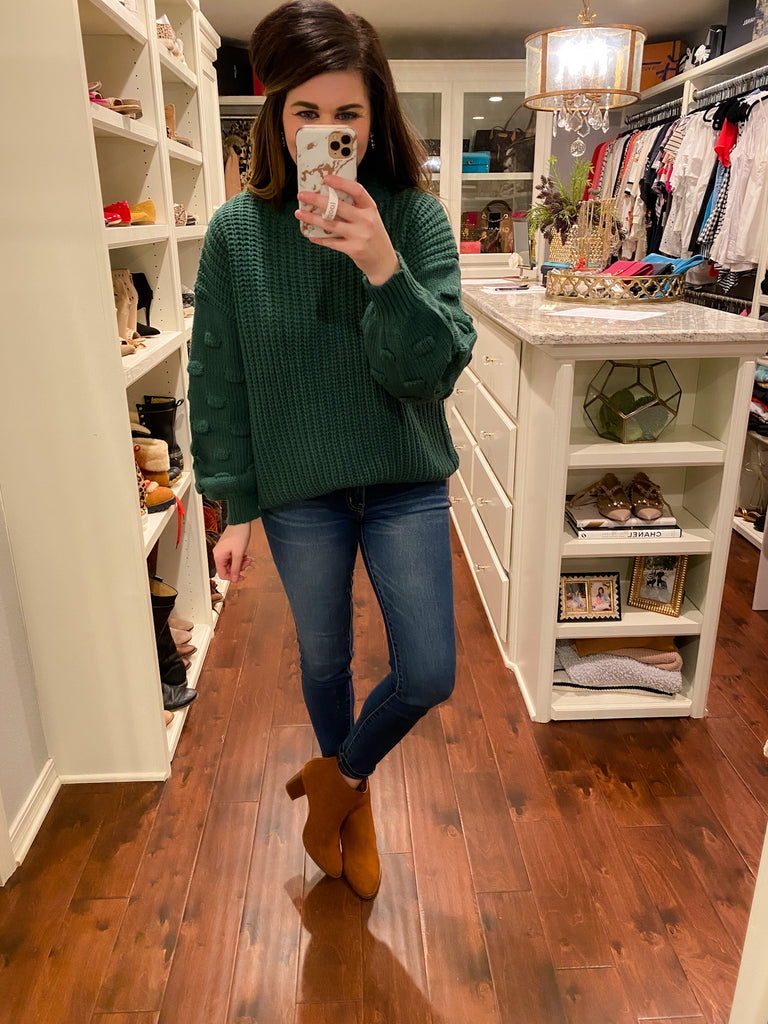 Conway Sweater in Hunter