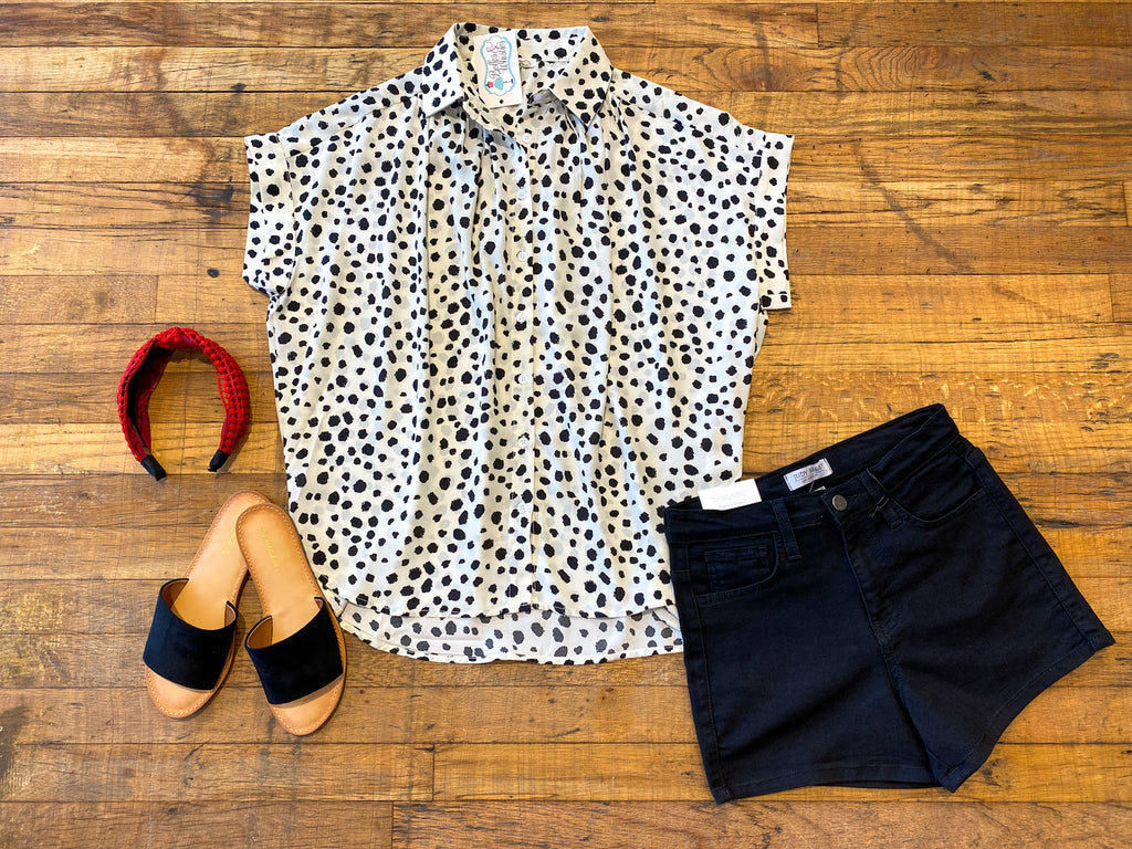 Pongo Button Down in White