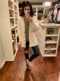Guest of Honor Cardigan in Cream