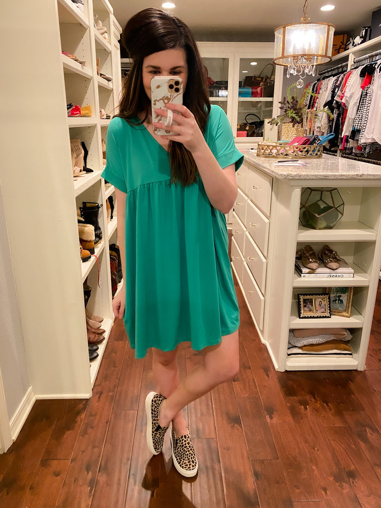 Oakland Dress in Green