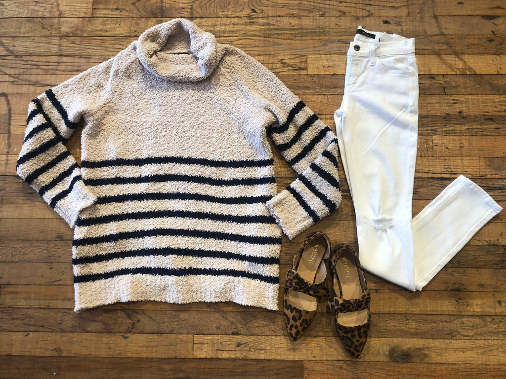Providence Striped Sweater