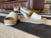 Malta Wedges in White