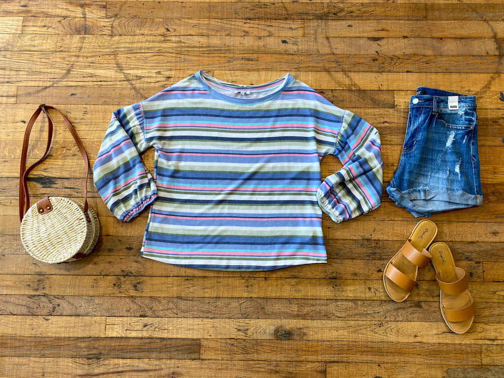 Barker Striped Top
