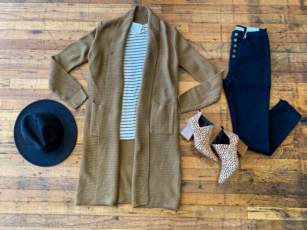 Fall in Sonoma Duster in Camel