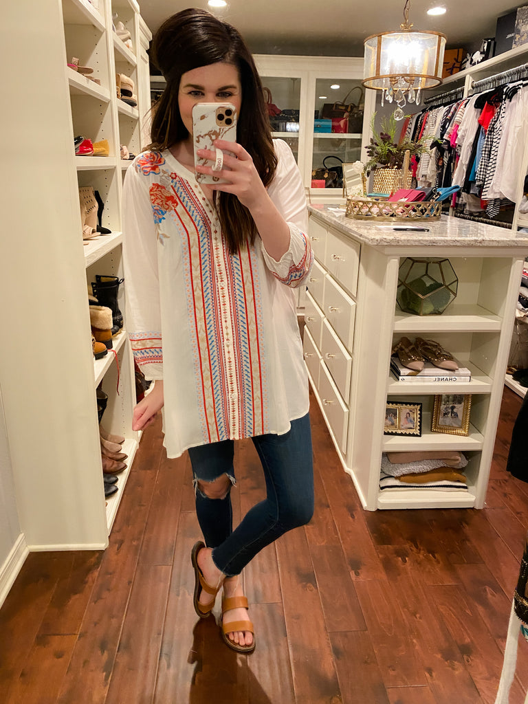SALE! Moab Embroidered Tunic