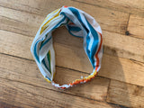Rainbow Stripe Headband