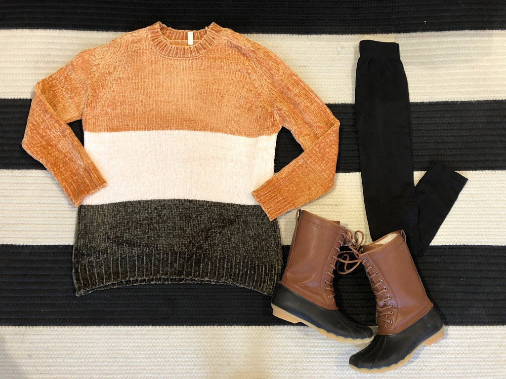 SALE! Charley Sweater in Mustard