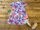 Floral Crush Swing Dress