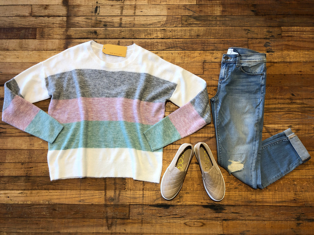 Brenner Striped Sweater