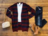 Helene Striped Cardigan