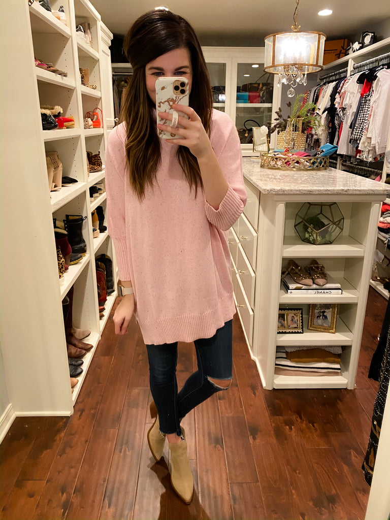 Sprinkle of Confetti Tunic in Pink
