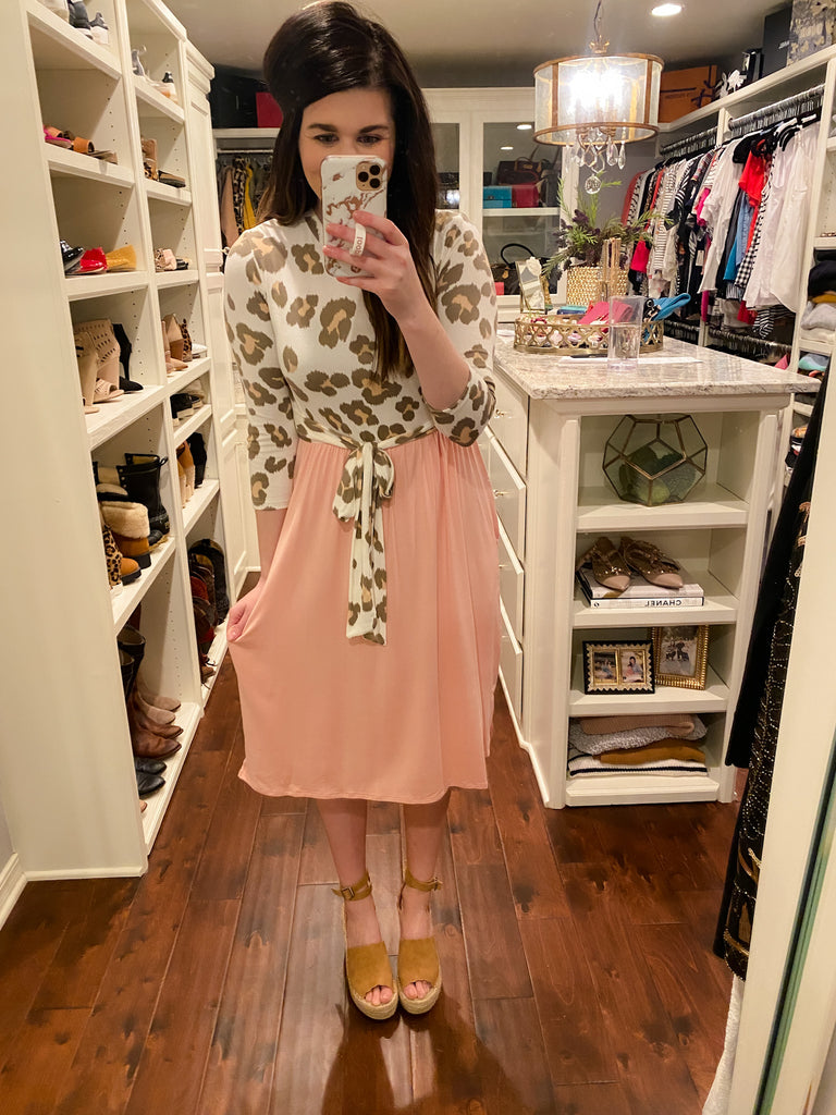 Westwood Dress in Blush