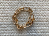 Chain Link Bracelet in Gold