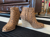 SALE! Chelsea Wedge Booties in Cheetah