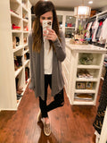 Miley Cardigan in Charcoal