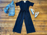 Urban Adventure Jumpsuit in Black