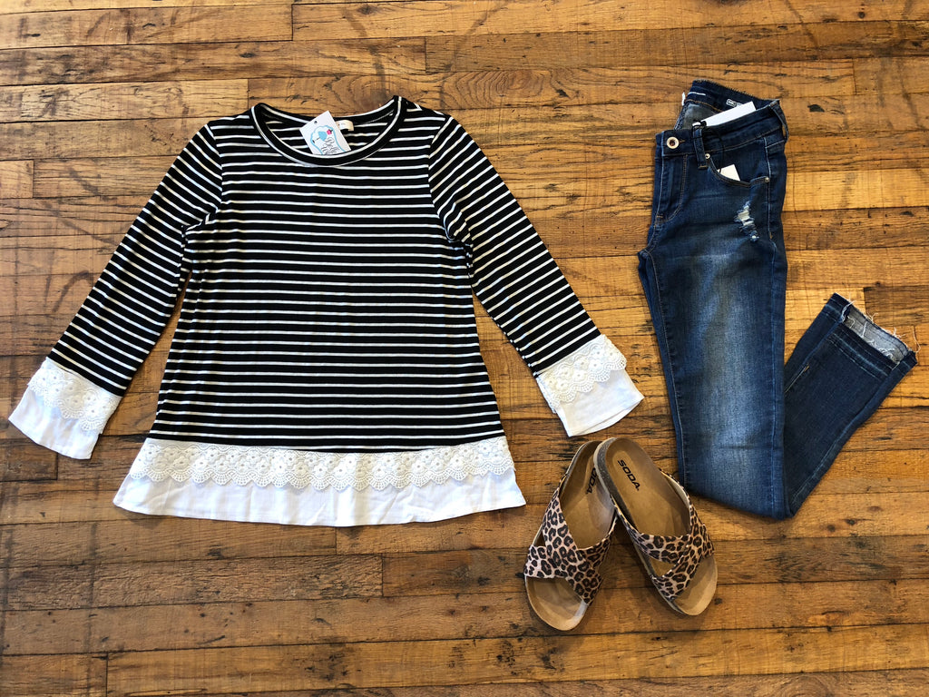Lorna Striped Top