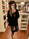 *BELLES & STEALS* Carrington Sweater in Black