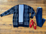 SALE! Silverton Plaid Cardigan