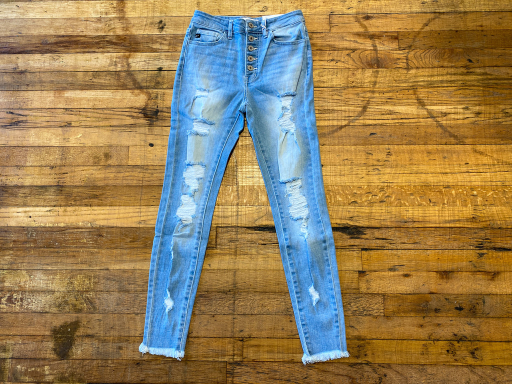 KanCan Valley Distressed Jeans